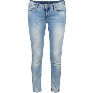 Světle modré dámské slim fit džíny s nízkým pasem Pepe Jeans Cher
