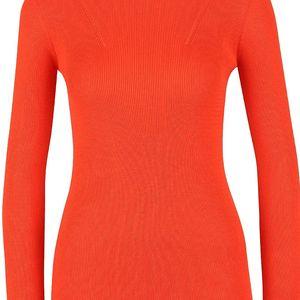 Oranžový svetr Dorothy Perkins