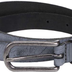 Šedý kožený pásek YAYA