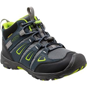 KEEN Junior boty Oakridge Mid WP Midnight Navy/Macaw 38