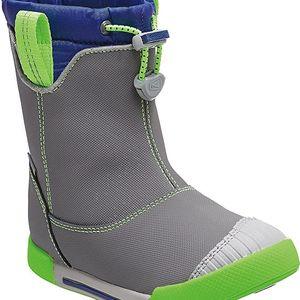 KEEN Dětské boty Encanto 365 Boot WP Gargoyle/True Blue 30