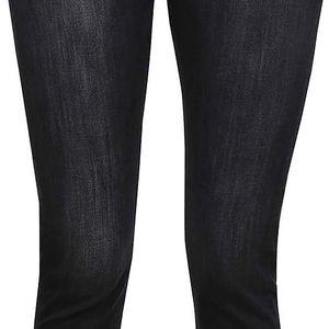 Černé dámské džíny se zipem na boku Bench