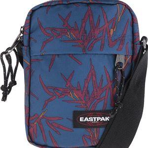 Modrá menší crossbody taška se vzorem Eastpak The one boobam