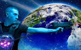 Supermoderní laser game v aréně Galaxy