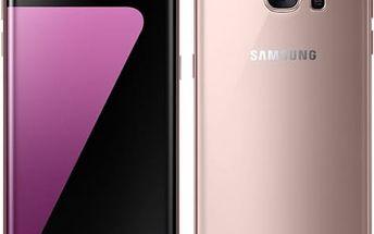 Mobilní telefon Samsung S7 edge 32 GB (G935F) (SM-G935FEDAETL) růžový