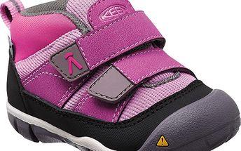 KEEN Dětské tenisky Peek-A-Shoe Purple Wine/Violet 27-28