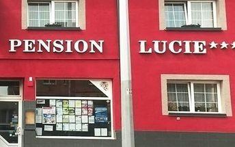 Pobyt v rodinném Pensionu Lucie se snídaní a možností wellness pro dva v Praze.