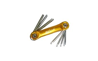Torx klíče 8 ks ERBA ER-46018