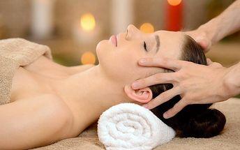 Indická masáž hlavy proti migréně a stresu