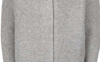 Šedý žíhaný dámský kabát Bench Aptness