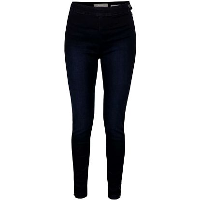 Tmavě modré dámské džíny se zipem na boku Bench