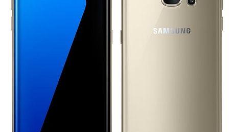 Mobilní telefon Samsung S7 edge 32 GB (G935F) (SM-G935FZDAETL) zlatý + DOPRAVA ZDARMA