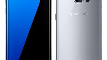 Mobilní telefon Samsung S7 edge 32 GB (G935F) (SM-G935FZSAETL) stříbrný + DOPRAVA ZDARMA