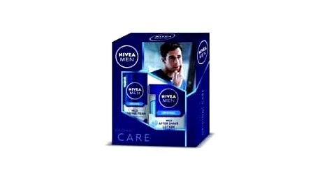 NIVEA MEN Original Lotion – pěna na holení 200 ml + voda po holení 100 ml