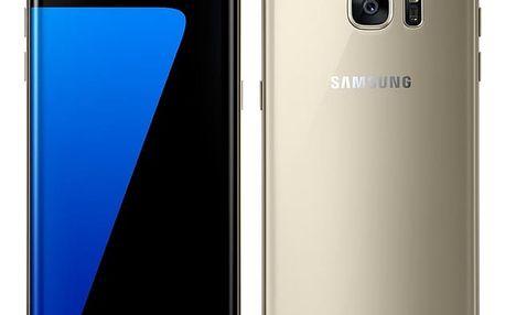 Mobilní telefon Samsung S7 edge 32 GB (G935F) (SM-G935FZDAETL) zlatý Software F-Secure SAFE 6 měsíců pro 3 zařízení v hodnotě 999 Kč + DOPRAVA ZDARMA