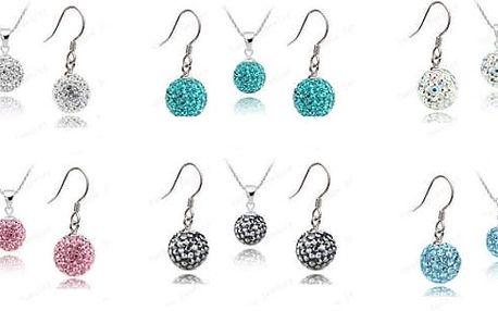 Nezapomeňte, blíží se plesová sezóna, z naší řady Shamballa si vyberete stylový šperk do barvy, kterou právě potřebujete, šperky vám vždy perfektně sednou k vašemu outfittu, párty či k plesovým šatům. Sada šperků je velmi originální.