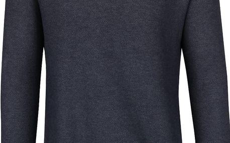 Tmavě modrý svetr Selected Homme Compton