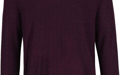 Fialový lehký svetr Burton Menswear London