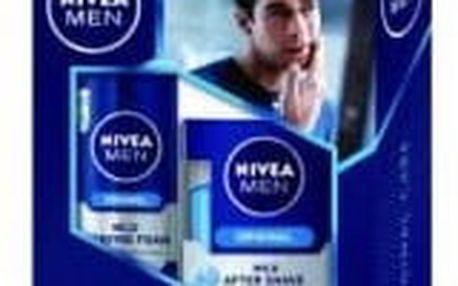 NIVEA MEN Original Lotion – pěna na holení 200 ml + voda po holení 100 ml