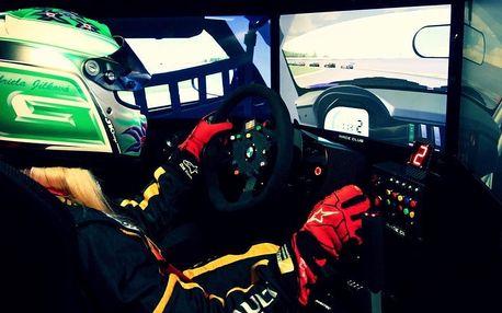 Rychlá jízda na závodním simulátoru Race Club
