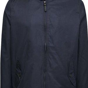 Tmavě modrá lehká bunda na zip Burton Menswear London