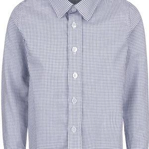 Modro-bílá kostkovaná klučičí košile name it Plusk