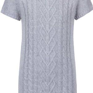 Śedé holčičí svetrové šaty 5.10.15.