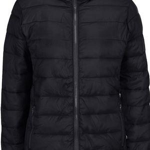 Černá prošívaná bunda Ibix b.young