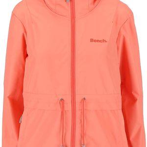 Korálová dámská bunda s kapucí Bench Profitability