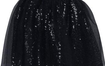 Modrá holčičí třpytivá sukně name it Wilfe