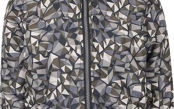 Khaki vzorovaná klučičí bunda name it Mellon