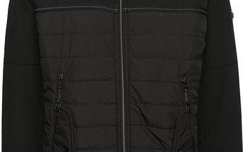 Černá pánská bunda s kapsami s.Oliver