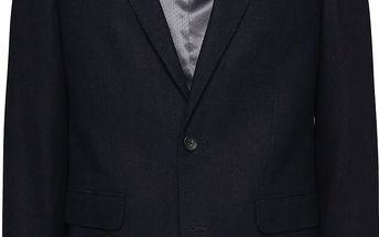 Tmavě modrý blejzr Burton Menswear London