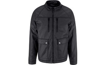 Černá bunda s kapsami Blend