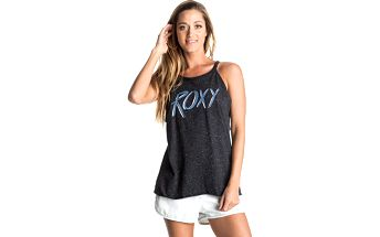 Roxy Top Cherry Symbol True Black ERJZT03529-KVJ0 L