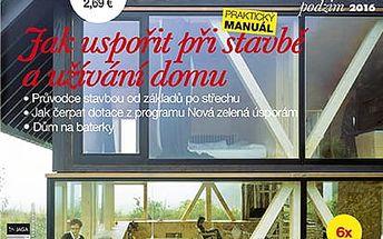 Roční předplatné časopisů: Recepty prima nápadů, Home, ASB, Realizace staveb,TZB Haustechnik