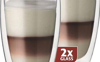 Příslušenství k espressu a kávovaru Maxxo Sklenice Cafe Latte 380 ml