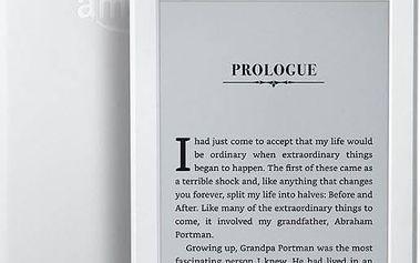 Čtečka e-knih Amazon Kindle 8 TOUCH Wi-Fi verze s reklamou (EBKAM1148) bílá