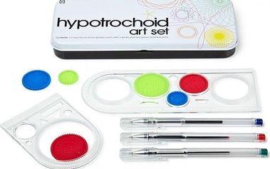 Sada na kreslení a rýsování Hypotrochoid