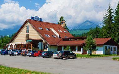 3 až 7denní pobyt pro 2 s polopenzí ve Vysokých Tatrách v hotelu Sosna