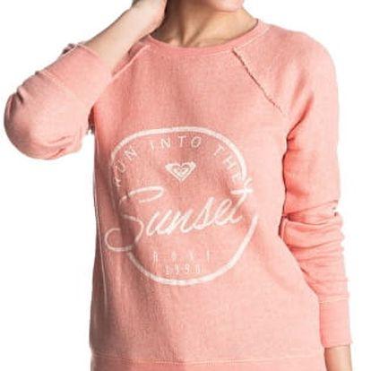 Roxy Mikina Sailor J Oltr Peach Amber ERJFT03399-MFP0 L