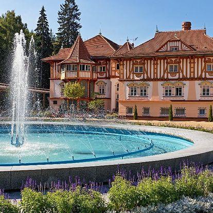 Jarní dovolená v centru Luhačovic pro DVA na 3 a více dní