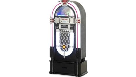 Minisystém Ricatech RR1000 Classic LED Jukebox