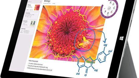 Jedinečný tablet Microsoft Surface 3, W8.1 s perfektním výkonem