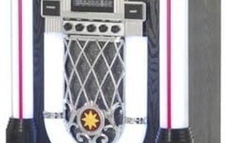 Minisystém Ricatech RR1000 Classic LED Jukebox