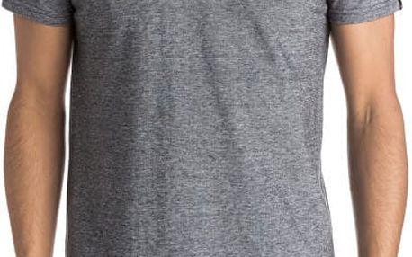 Quiksilver Pánské tričko Final Leg Dark Grey Heather EQYKT03437-KTFH XL