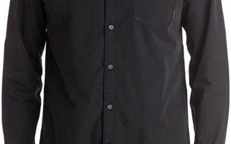 Quiksilver Pánská košile Everyday Wilsden Ls Tarmac EQYWT03378-KTA0 M