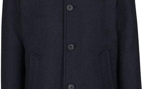 Tmavě modrý kabát Selected Homme New Mash