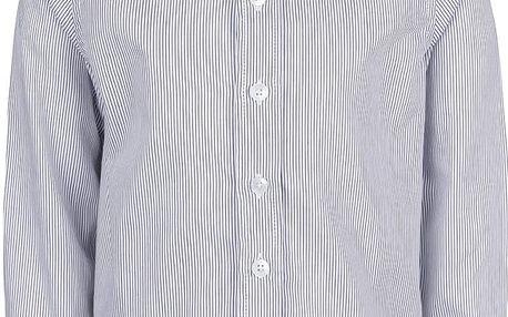 Modro-bílá klučičí košile s proužky name it Plusk