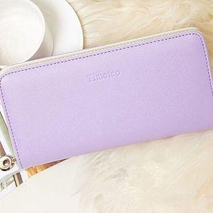 Dámská peněženka v pastelových barvách